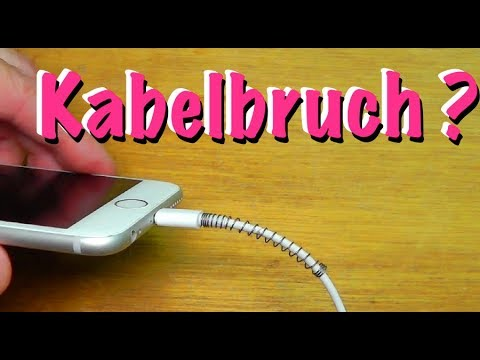 Kein Kabelbruch mehr beim iPhone Ladekabel