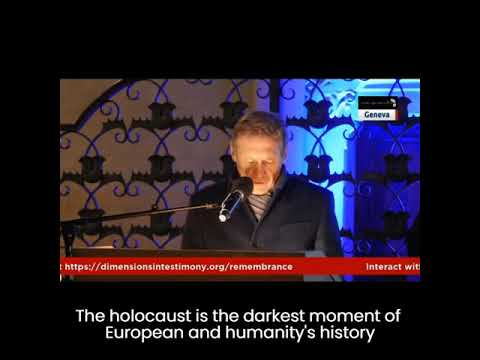 EU Ambassador Walter Stevens at the opening ceremony of the exhibition