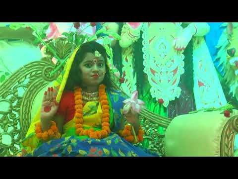 রাজশাহীতে শারদীয় দুর্গোৎসবের মহাঅষ্টমীতে কুমারী পূজা