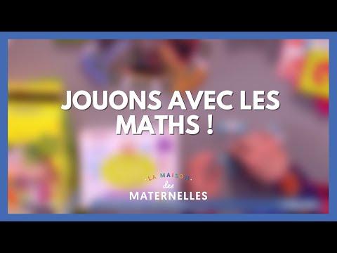 Jouons avec les maths ! - La Maison des maternelles #LMDM