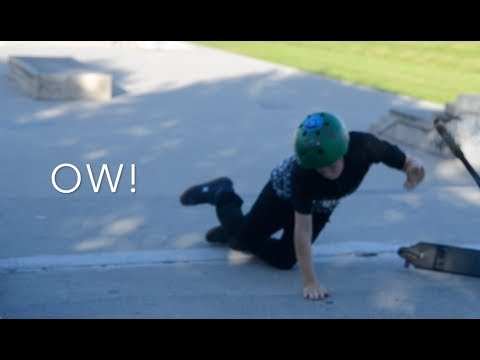 DAY IN THE LIFE OF SHEA AT THE SKATEPARK!