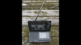 Sony ICF-SW12 World Band Shortwave Radio For Travelers And Tuning Shortwave