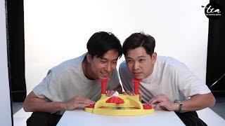 Celebrities Play: Pie Face ! (Feat. Desmond, Romeo, Jeffrey, Hong Ling, Ying Ying and Edwin Goh)