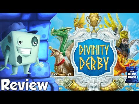 Divinity Derby Review - with Tom Vasel