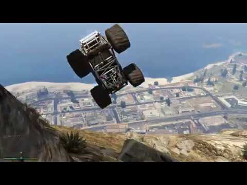 Grand Theft Auto V [Monster Truck Off-Road Fun] PCHD 4K
