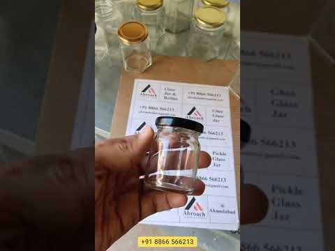 60Ml Round Glass Jar