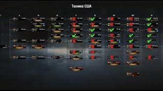 Какие танки США качать в WoT | #Танкосмотр2020 Итог по всем веткам World of Tanks