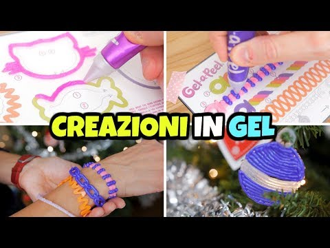 Proviamo GEL A PEEL: come fare CREAZIONI e ACCESSORI in GEL