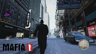 MAFIA II Remastered 2020 Old Time Reality Graphics Mod  New Lighting Weather Textures Gameplay