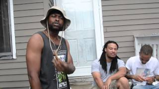 Steady B - Streetz Keep Watchin ft Lava330 & The Mortician (official Music Video)