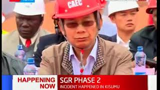 Phase two of Standard Gauge Railway launched by Chinese contractor