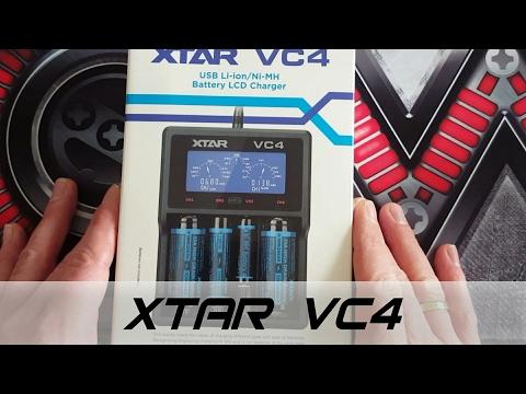 YouTube Video zu Xtar VC4 4-Schacht USB Ladegerät