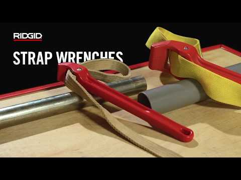 RIDGID Strap Wrenches