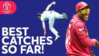 Stokes, de Kock, Cottrell   BEST CATCHES So Far   ICC Cricket World Cup 2019