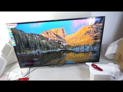 Unboxing Changhong LCD TV LED 40 D1200