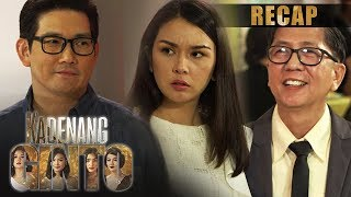 Leon uses his connections to help Romina   Kadenang Ginto Recap (With Eng Subs)