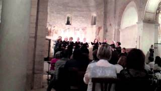 Video: Ave Maria by Guy Forbes, performed by Angelica, Women's Chamber Choir