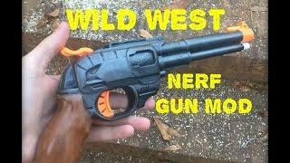 NERF MOD: Cowboy SAA PeaceMaker (Made w/ Double Strike)