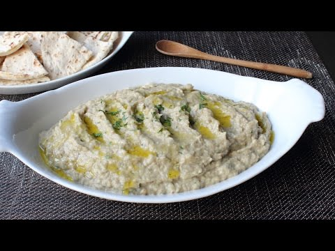 Baba Ghanoush – How to Make Roasted Eggplant Dip & Spread