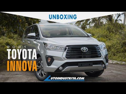 2021 Toyota Innova 2.8 V - Unboxing