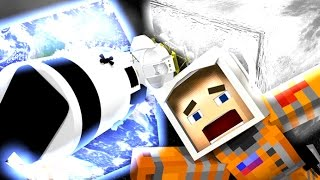 SPACE LIFE: MINECRAFT ANIMATION If You Could Go to the Moon in Minecraft