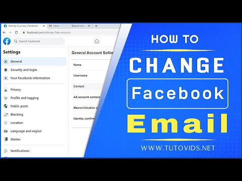How to Change Your Primary Email On Facebook