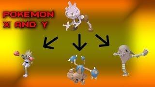 Hitmonlee  - (Pokémon) - Pokemon X and Y: Hitmonchan, Hitmonlee and Hitmontop