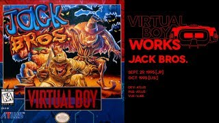 Jack Bros. retrospective: Devil with a red dress | Virtual Boy Works #07