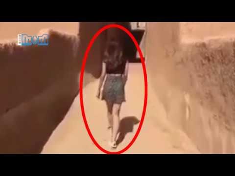 Модель из Саудовской Аравии, рискнула жизнью пройдя по улице в короткой юбке