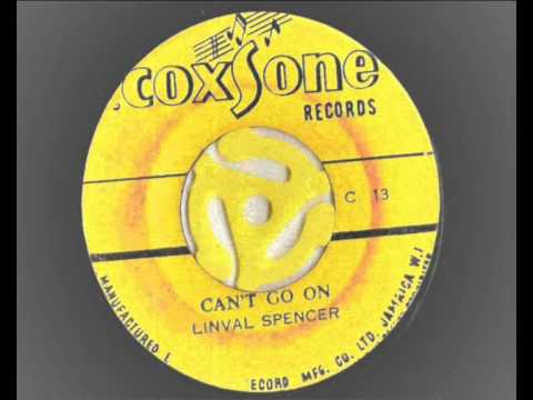 linval spencer – can't go on – coxsone records