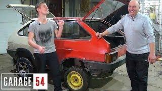 ЖОПОТАНК #2 - СТАВИМ V6 на 200+ сил