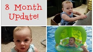 Grace's Baby Update: 8 months | Separation Anxiety