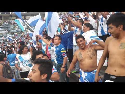 """""""Porra del puebla 2014"""" Barra: Malkriados • Club: Puebla Fútbol Club"""