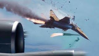 Неудачные запуски ракет с самолётов. Aircraft Store Separation Incidents