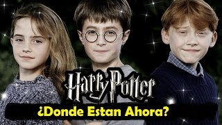 Elenco de Harry Potter: Donde Están Ahora