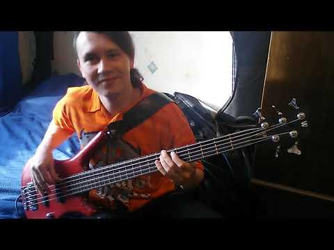Вольт Котовский - Ангельская пыль (funny bass cover)