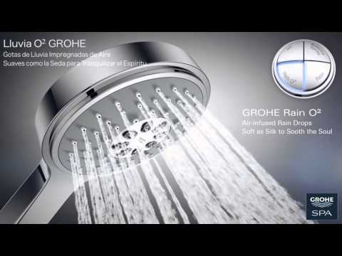 Duchas GROHE Power&Soul