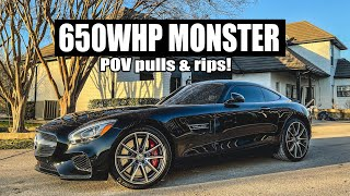 Turning my AMG Daily into a 650whp MONSTER (POV pulls/rips!) by Evan Shanks