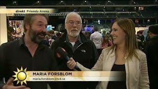 Skådisar från tv-succén Game of thrones besöker Stockholm - Nyhetsmorgon (TV4)