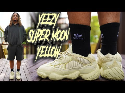 d85dd990c5f3e YEEZY 500 SUPER MOON YELLOW + SEASON 6 REVIEW AND ON FOOT !!!