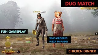 [Hindi] PUBG MOBILE   FUN DUO MATCH WITH CHICKEN DINNER