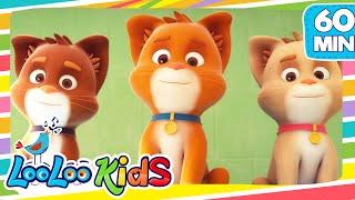 THREE LITTLE KITTENS    LooLooKids Nursery Rhymes And Kids Songs