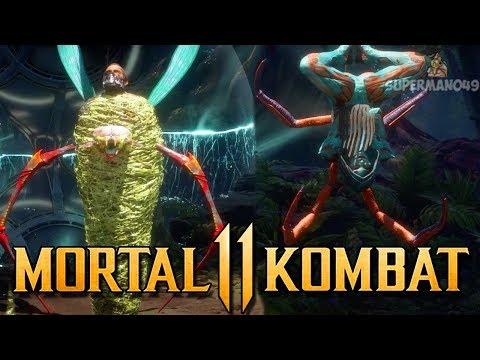 """D'vorah Has AMAZING Brutalities! - Mortal Kombat 11: """"D'vorah"""" Gameplay"""