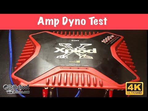 Did It Xplod? 2001 Sony Mobile ES Amp Tested (4K)