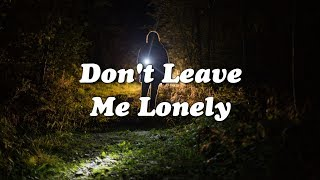 ​​​​Mark Ronson   Don't Leave Me Lonely (ft. YEBBA) (Lyrics Video)