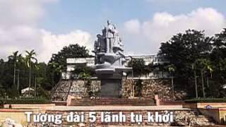 preview picture of video 'Anh hùng Nguyễn Thái Học, di tích mộ và tượng đài, tp.Yên Bái'