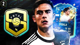 WE COME BACK STRONG! F8TAL TOTSSF DYBALA! FIFA 20 ULTIMATE TEAM #02