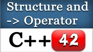 Accessing C++ Nested Structure Members using Arrow Operator | CPP Programming Video Tutorial