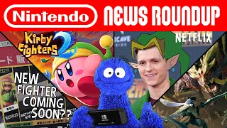 3DS is Discontinued, Kirby's Accidental Reveal, Tom Holland Link | NINTENDO NEWS ROUNDUP