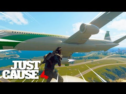 TOP 10 MOST EPIC STUNTS - Just Cause 4 Montage!